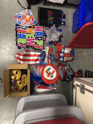 4th of July/New Years Photobooth Props for Sale in San Diego, CA