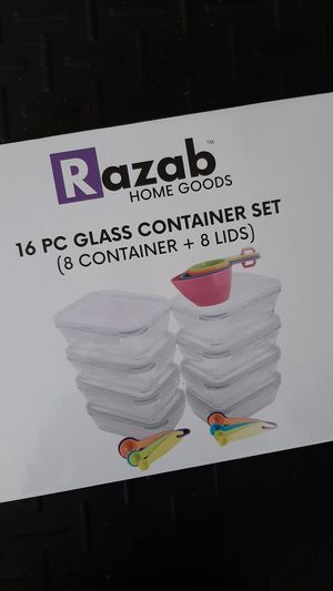 Glass Container Set for Sale in Melbourne, FL