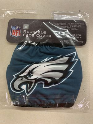 Philadelphia Eagles Reusable Face Cover Officially Licensed for Sale in San Antonio, TX