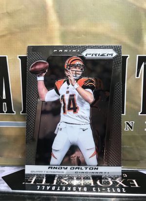 ANDY DALTON PRIZM CHROME 2013 AS SHOWN for Sale in Jersey City, NJ