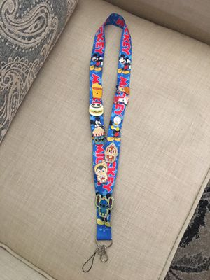 Disney Lanyard With 9 Disney Trading Pins for Sale in Murrieta, CA