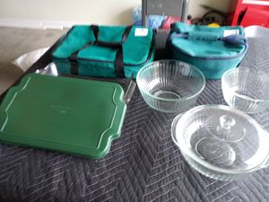 Pyrex Casserole Dishes & Carrying Bags for Sale in Murfreesboro, TN