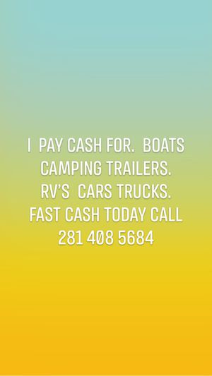 Rv camping trailer for Sale in Houston, TX