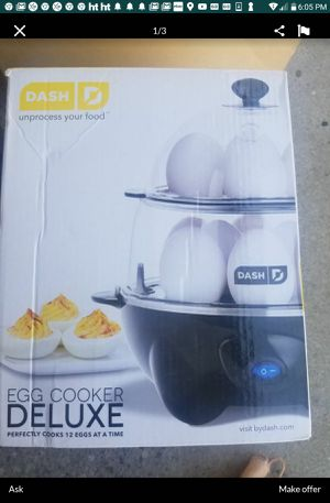 Desh egg cooker for Sale in Los Angeles, CA