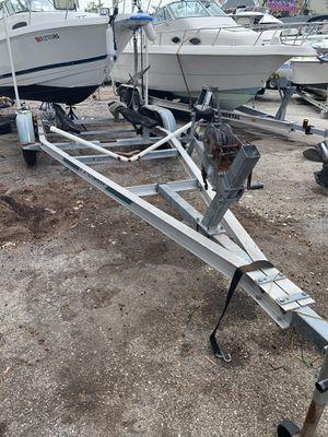 Aluminum boat trailer double axle 24' for Sale in Miami, FL
