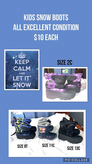 Kids snow boots for Sale in Lowell, MA