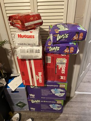 Diapers for Sale for Sale in Paterson, NJ