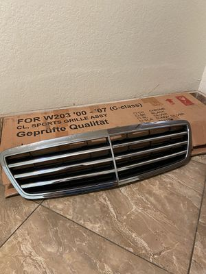 Mercedes C class grille and emblem car parts for Sale in San Jose, CA