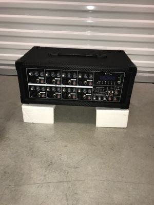 Power mixe 8 channel efect radio usb Bluetooth for Sale in Miami, FL