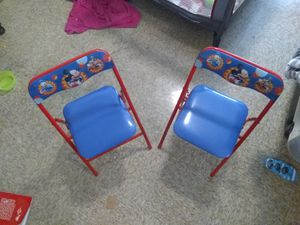 Mickey Mouse Folding chair set for Sale in Nashville, TN