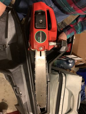 "Craftsman 2.0/14"" 2 stroke chainsaw for Sale in Germantown, MD"