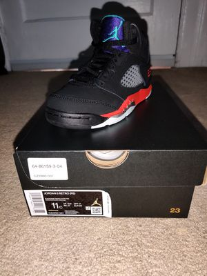 Jordan 5 Retro Top 3s Size 11C PS for Sale in Mount Vernon, NY