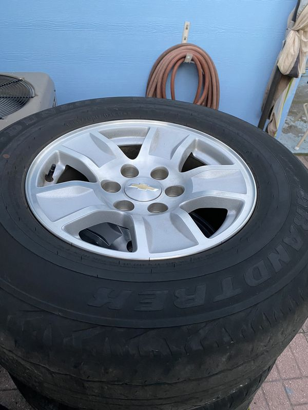 17 inch Chevy rims and tire