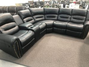 Recliner sectional for Sale in Costa Mesa, CA