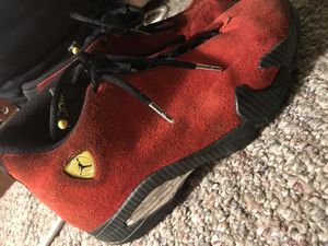 "AIR JORDAN 14 RETRO ""FERRARI"" for Sale in Hyattsville, MD"