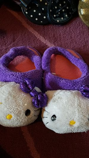 Hello Kitty slippers for Sale in Moreno Valley, CA