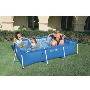 """BRAND NEW Intex 86"""" x 23"""" Rectangular Frame Above Ground Outdoor Baby Splash Swimming Pool for Sale in Greensburg, PA"""