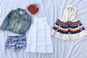 Girls clothing size 4t, Janie and Jack, Levi's, Old Navy and Gymboree perfect summer outfit! for Sale in Whittier, CA
