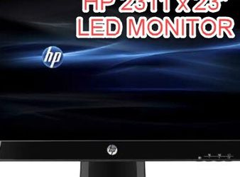 """HP 23"""" LED Flat Screen Monitor Great For Laptop Or Tower Computers for Sale in Pompano Beach,  FL"""