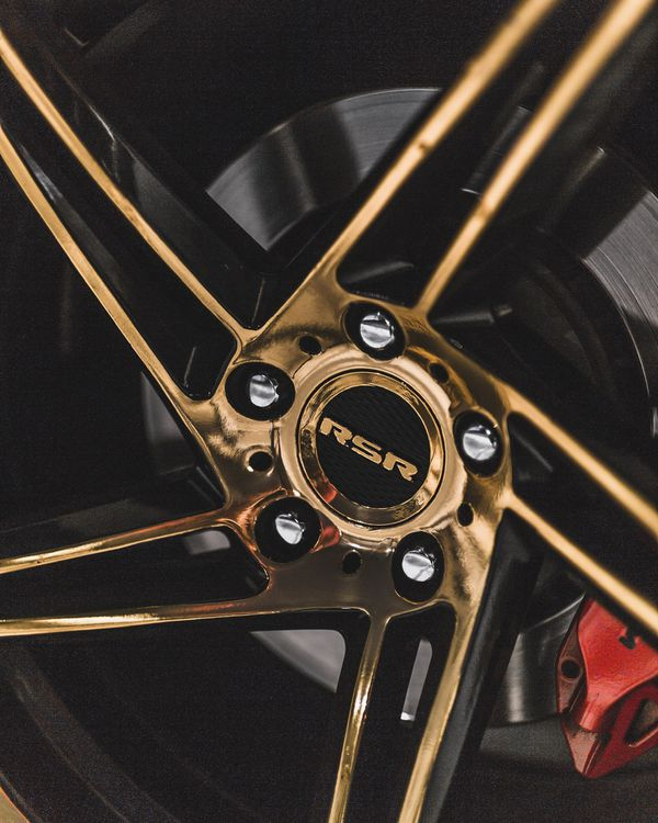 RSR R802 20 inch Wheels for Camaro or Charger
