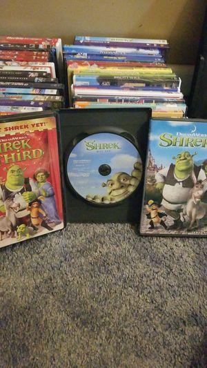 Dream Works Shrek 3 DVD Package for Sale in Blackwood, NJ