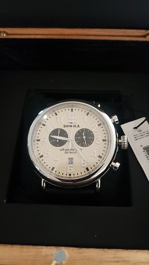 Shinola Detroit chronograph for Sale in Prospect Heights, IL
