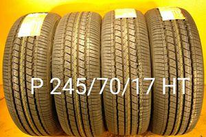 4 New tires P 245/70/17 HT llantas nuevas for Sale in Chula Vista, CA