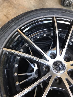 "Set of tires with 18"" rims for Sale in Mesquite, TX"