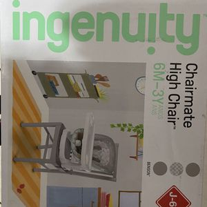 Ingenuity High Chair Chairmate for Sale in Las Vegas, NV