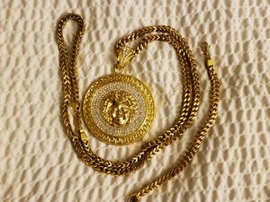 Chain 36 inch with bracelet stailees steel ,cadena con pulsera for Sale in Boston, MA