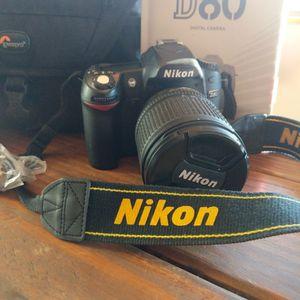 Nikon D80, Padded Camera Bag, Reference Books for Sale in Cornville, AZ