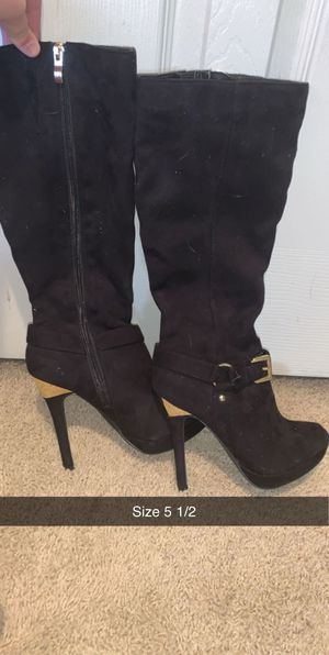 Black boots for Sale in Thornton, CO