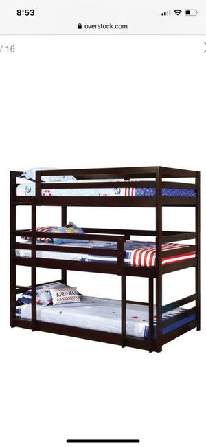 3 person bunk bed for Sale in Henderson, NV