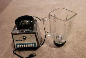 Osterizer Classic VIII 541 Chrome and Glass Blender for Sale in Chino, CA