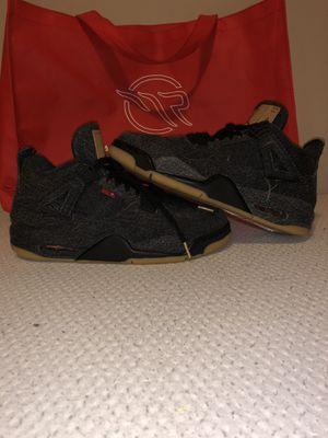 Air Jordan 4 'Levi's Black' Size 9.5 for Sale in Woodland Hills, CA