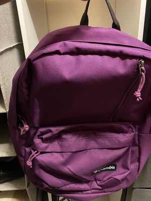 Columbia purple backpack for Sale in Fairfax, VA