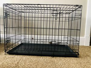 36x22x25 Double Door Dog Crate with Divider for Sale in Pittsburgh, PA