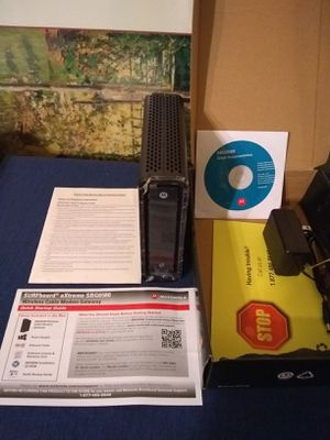 Motorola Docsis 3.0 wireless cable modem & gigabit router, like new.pickup near Western/Devon Firm for Sale in Chicago, IL