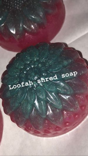 Loofah shred soaps scented in sex bomb for Sale in Las Vegas, NV