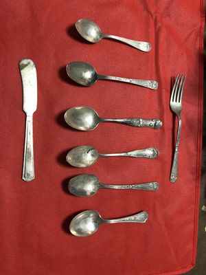Vintage silver plated silverware for Sale in Parma, OH
