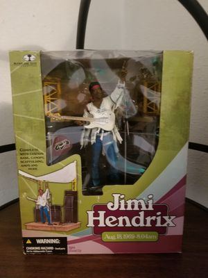 Jimi Hendrix collectable action figure for Sale in Renton, WA