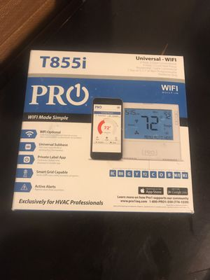 Pro heating cooling WiFi thermostat.$120 value for Sale in Boston, MA