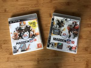 PS3 Madden Games for Sale in Chula Vista, CA