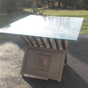 Gorgeous Solid Brass And Glass Coffee Table for Sale in Silver Spring, MD