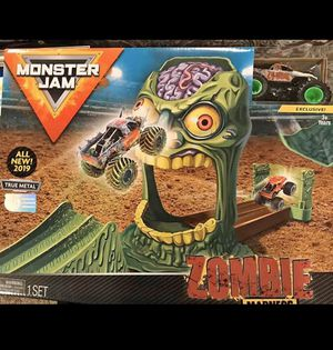 Monster Jam Official Zombie Madness Playse for Sale in Carle Place, NY