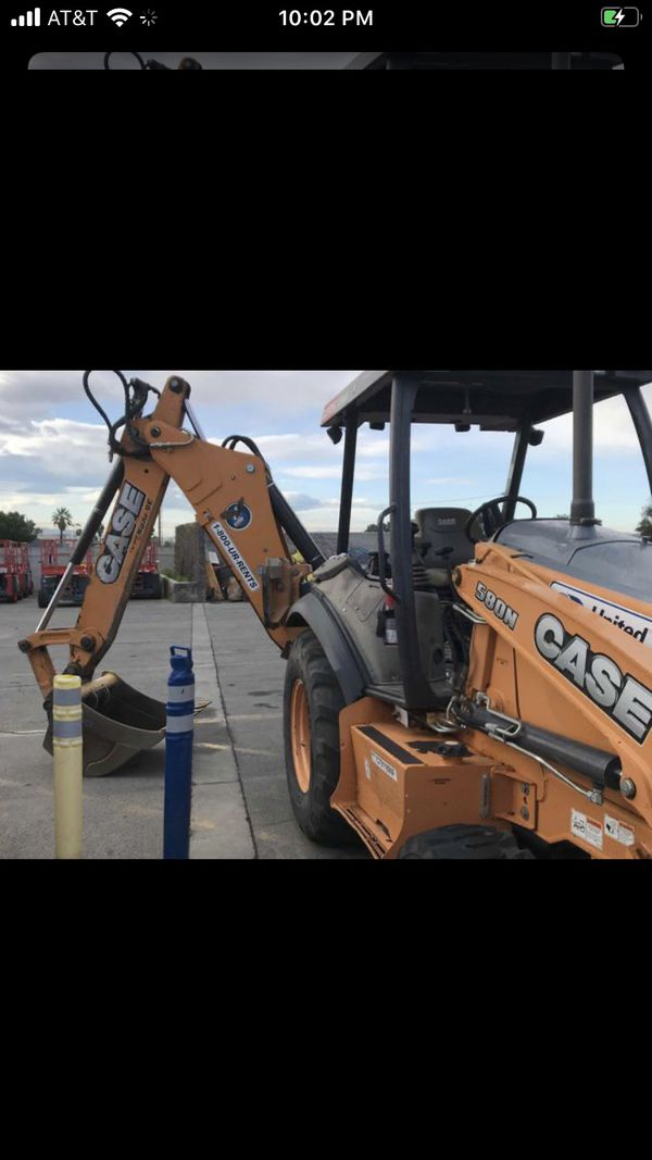 Case 580 backhoe