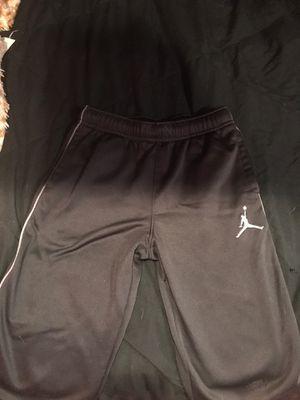 Nike air Jordan's sweatpants grey and black brand new for Sale in Philadelphia, PA
