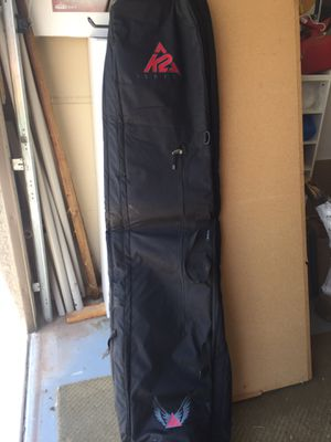 K2 Black ski bag. Speed Roller 185 for Sale in Phoenix, AZ