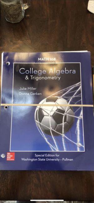 College Algebra and Trigonometry book for Sale in Kennewick, WA