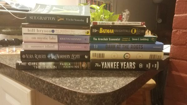 13 Assorted Bestselling Books